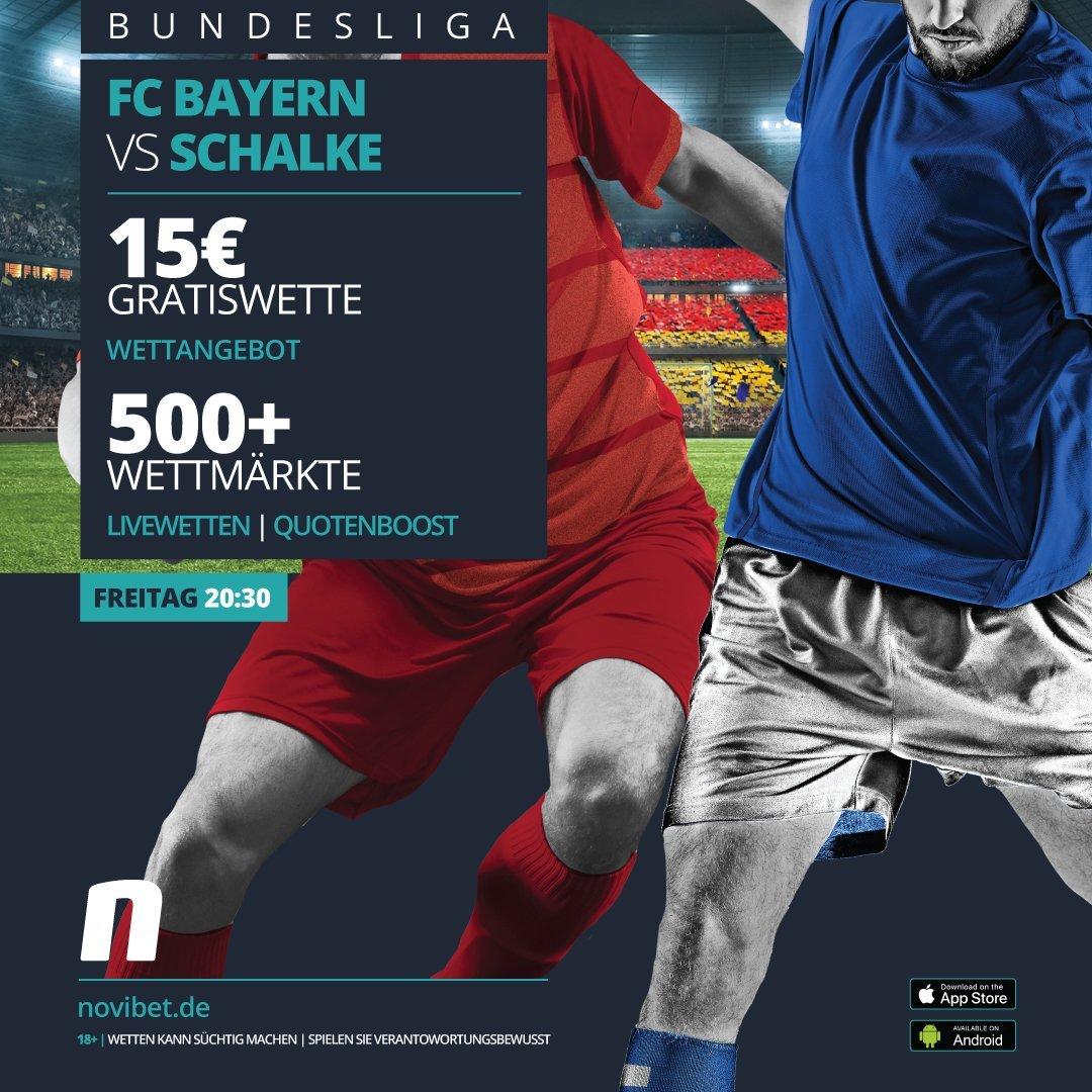 FC Bayern vs. FC Schalke 04 Gratiswette