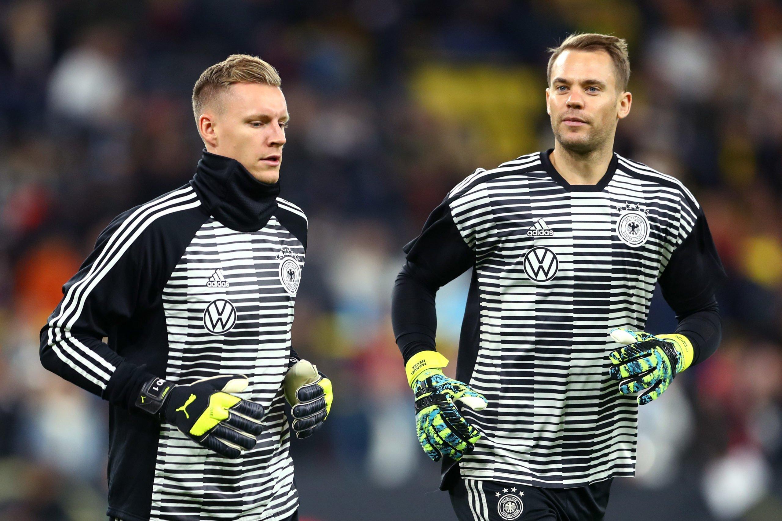 Bernd Leno und Manuel Neuer
