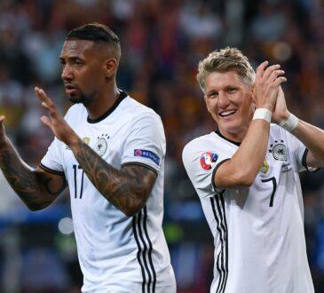 Jerome Boateng und Bastian Schweinsteiger