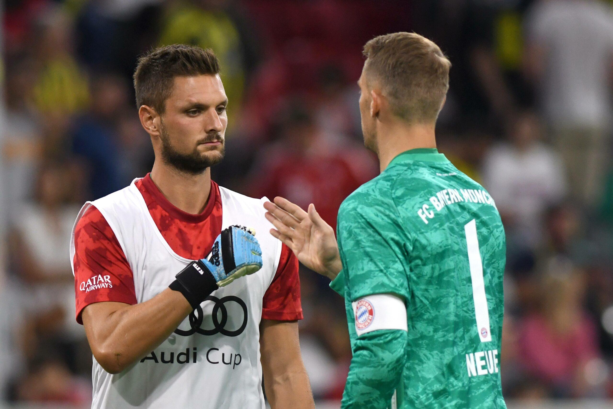 Sven Ulreich und Manuel Neuer