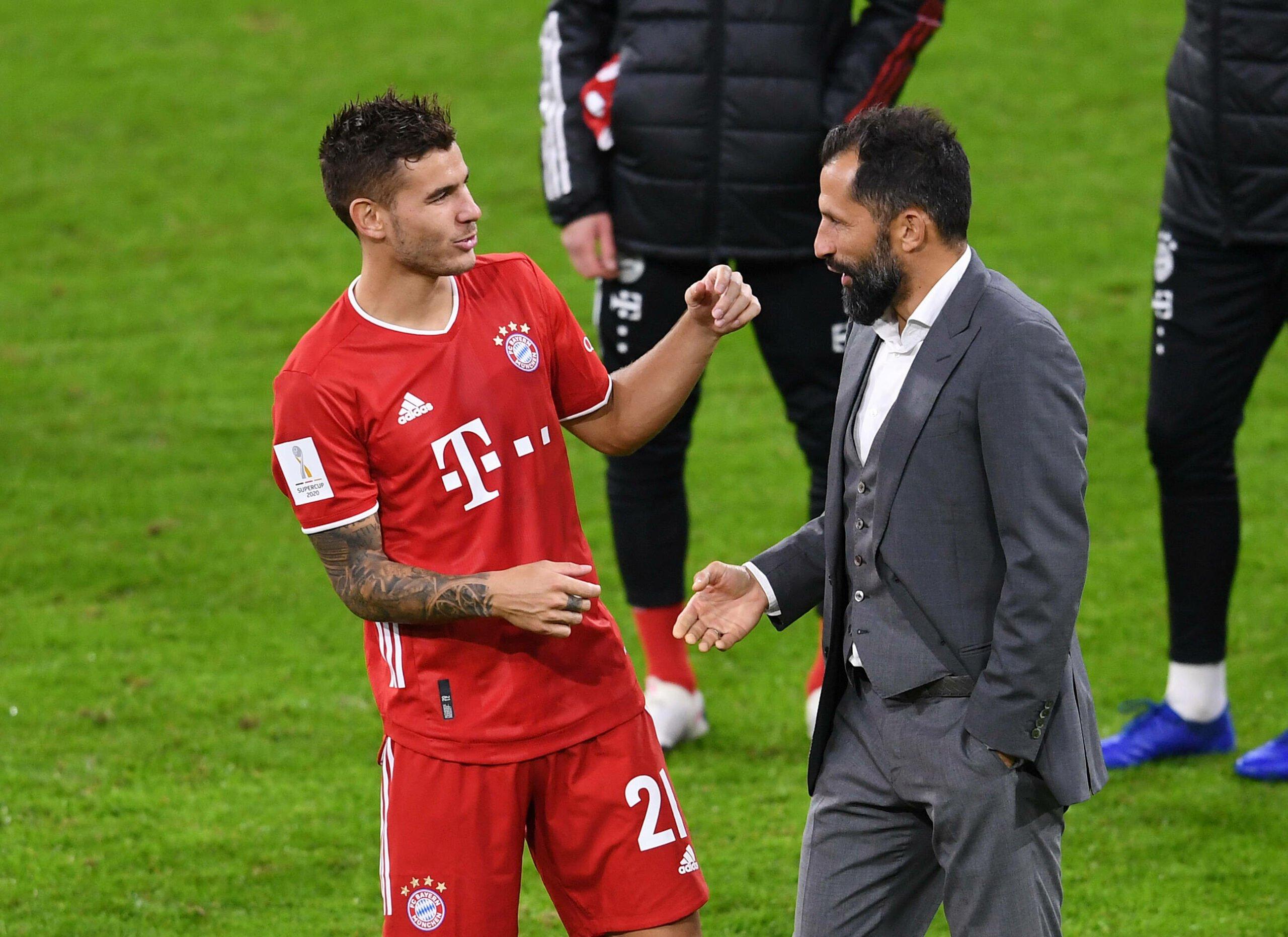 Lucas Hernandez und Hasan Salihamidzic