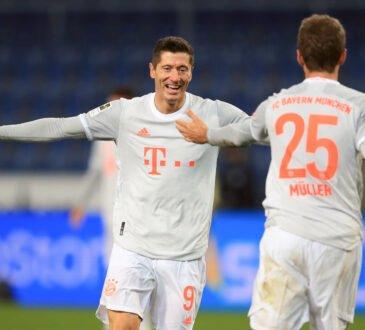 Lewandowski und Müller