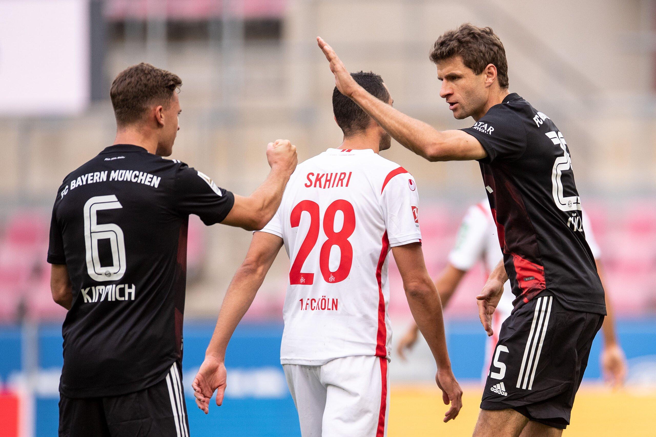 Joshua Kimmich und Thomas Müller