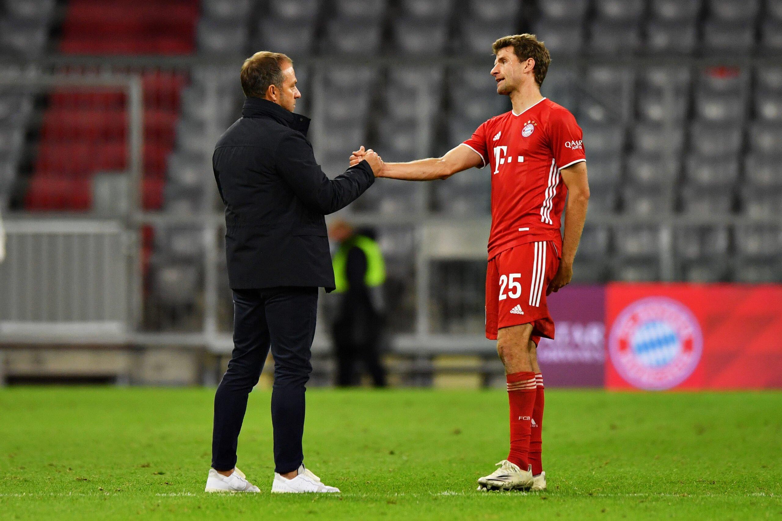 """Flick nimmt sein Team in Schutz: """"Es ist nicht einfach für die Spieler, sie  sind nicht alle zu 100 Prozent"""" - Aktuelle FC Bayern News,  Transfergerüchte, Hintergrundberichte uvm."""