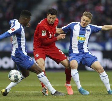 FC Bayern vs. Hertha BSC
