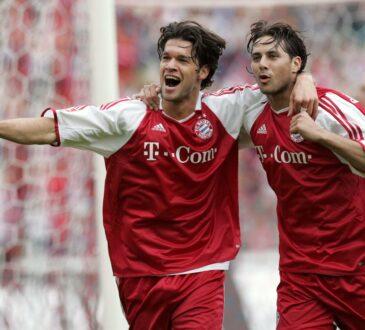Michael Ballack und Claudio Pizarro