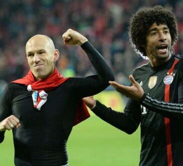 Arjen Robben und Dante