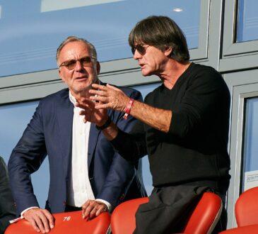Karl-Heinz Rummenigge und Joachim Löw