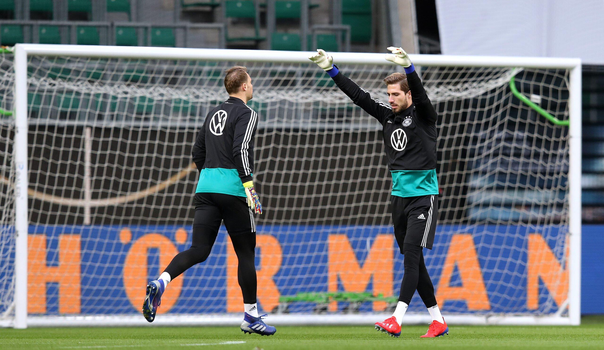 Manuel Neuer und Kevin Trapp