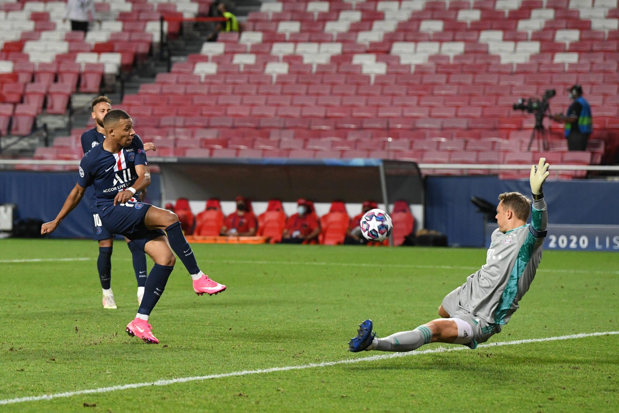 Kylian Mbappe und Manuel Neuer