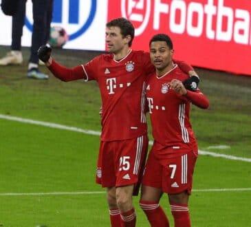 Thomas Müller und Serge Gnabry