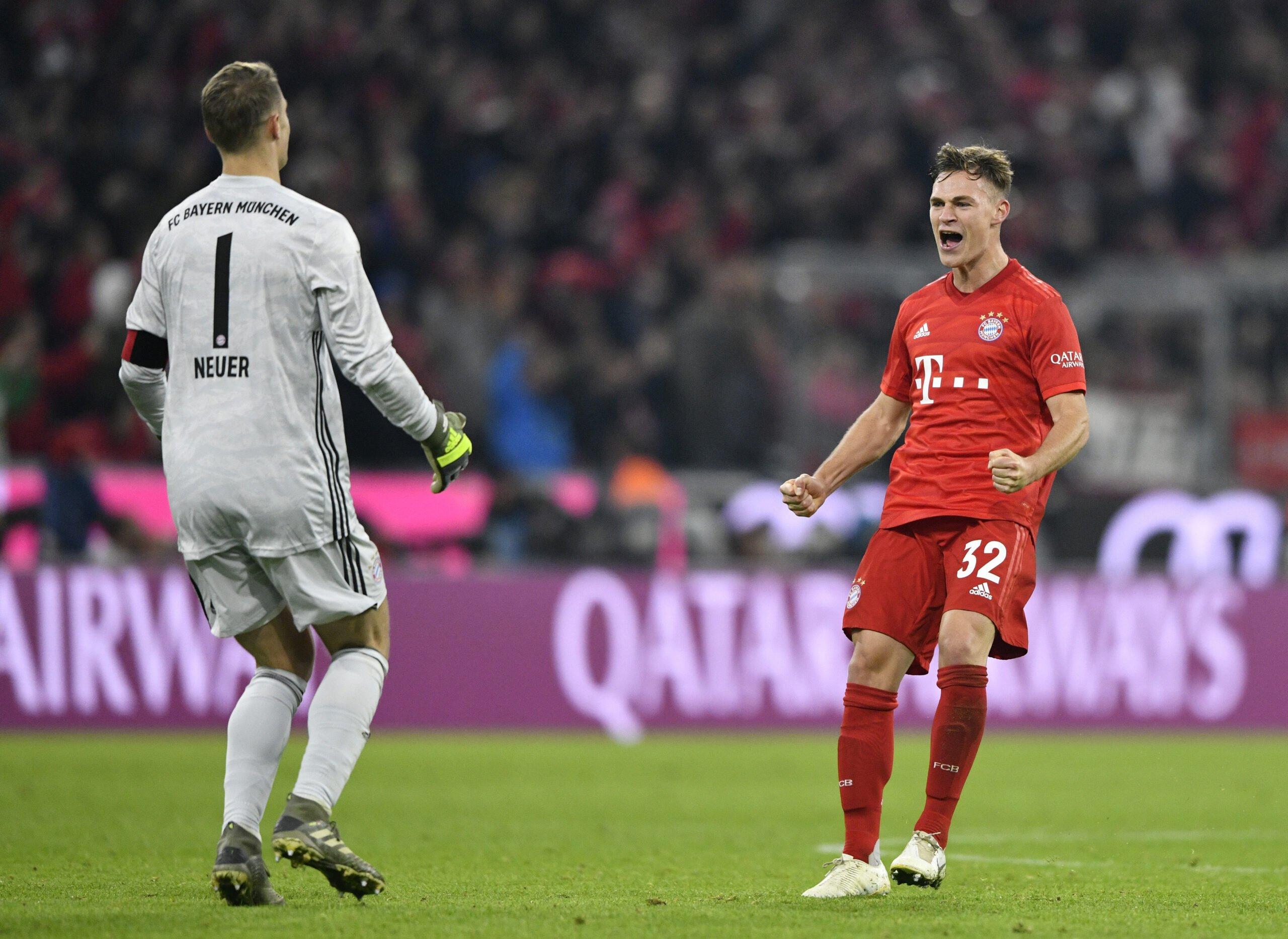 Manuel Neuer und Joshua Kimmich