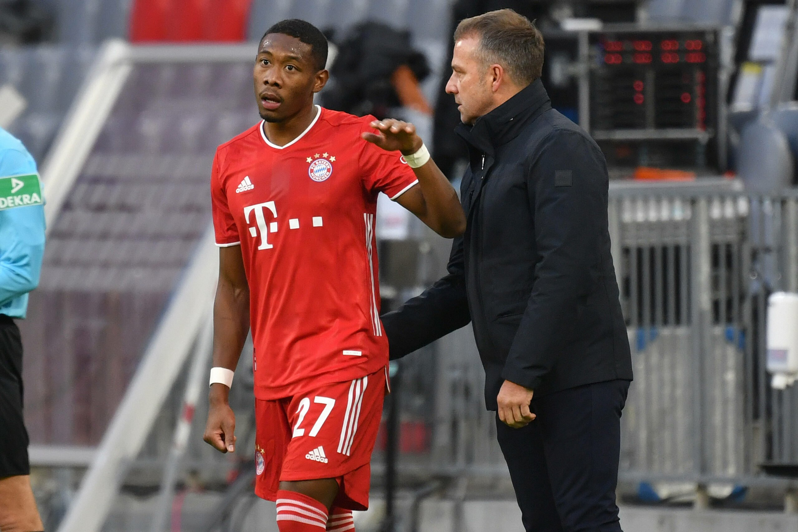 Hansi Flick und David Alaba