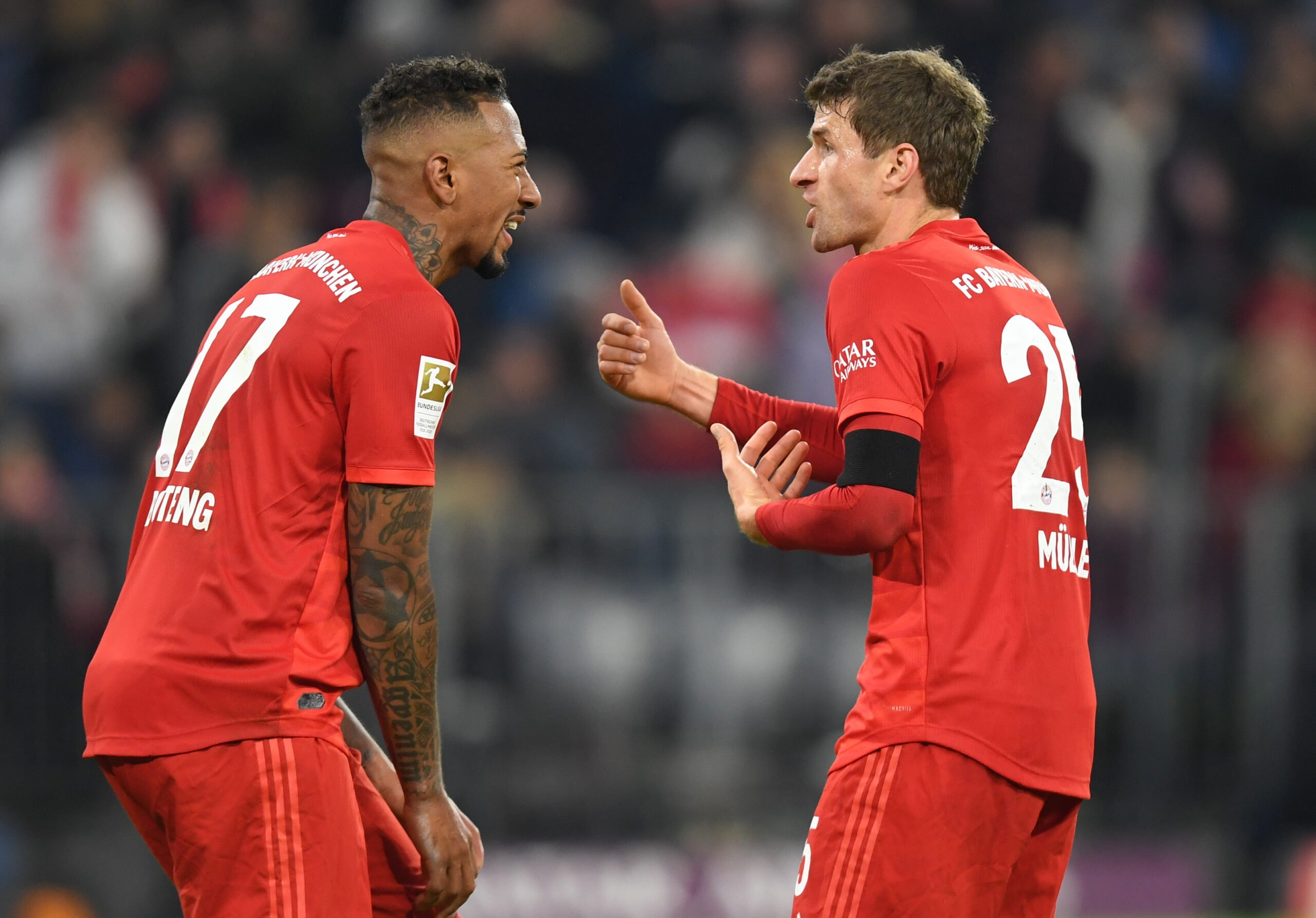 Jerome Boateng und Thomas Müller