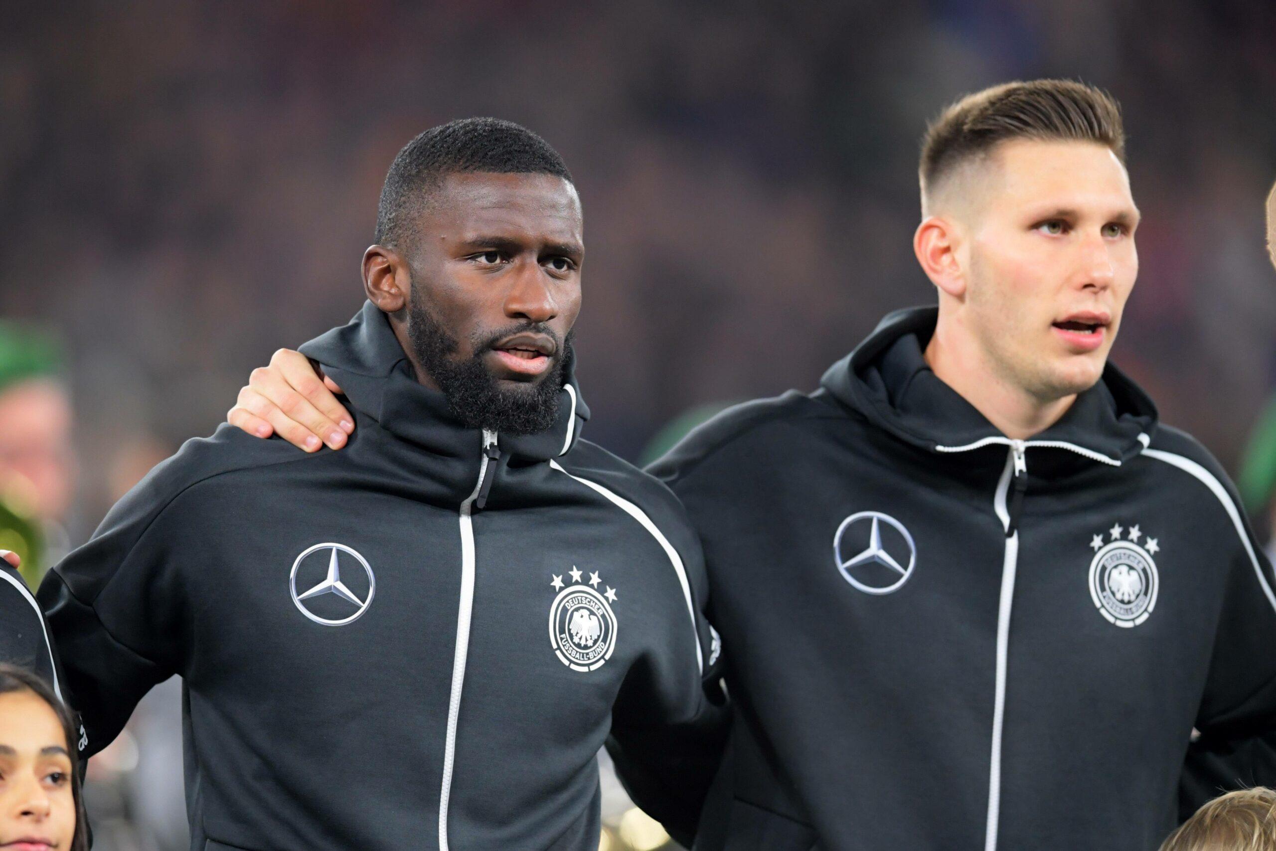 Antonio Rüdiger und Niklas Süle