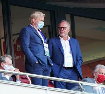 Oliver Kahn und Karl-Heinz RUmmenigge
