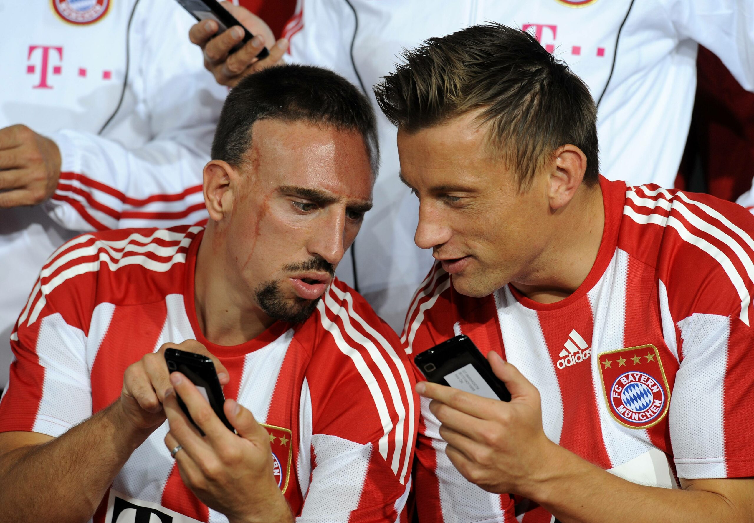Franck Ribery und Ivica Olic
