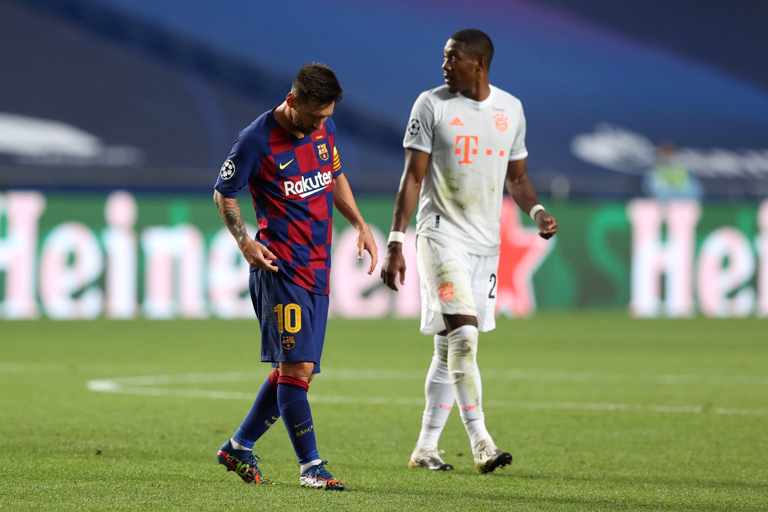 Lionel Messi und David Alaba