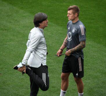 Joachim Löw und Toni Kroos