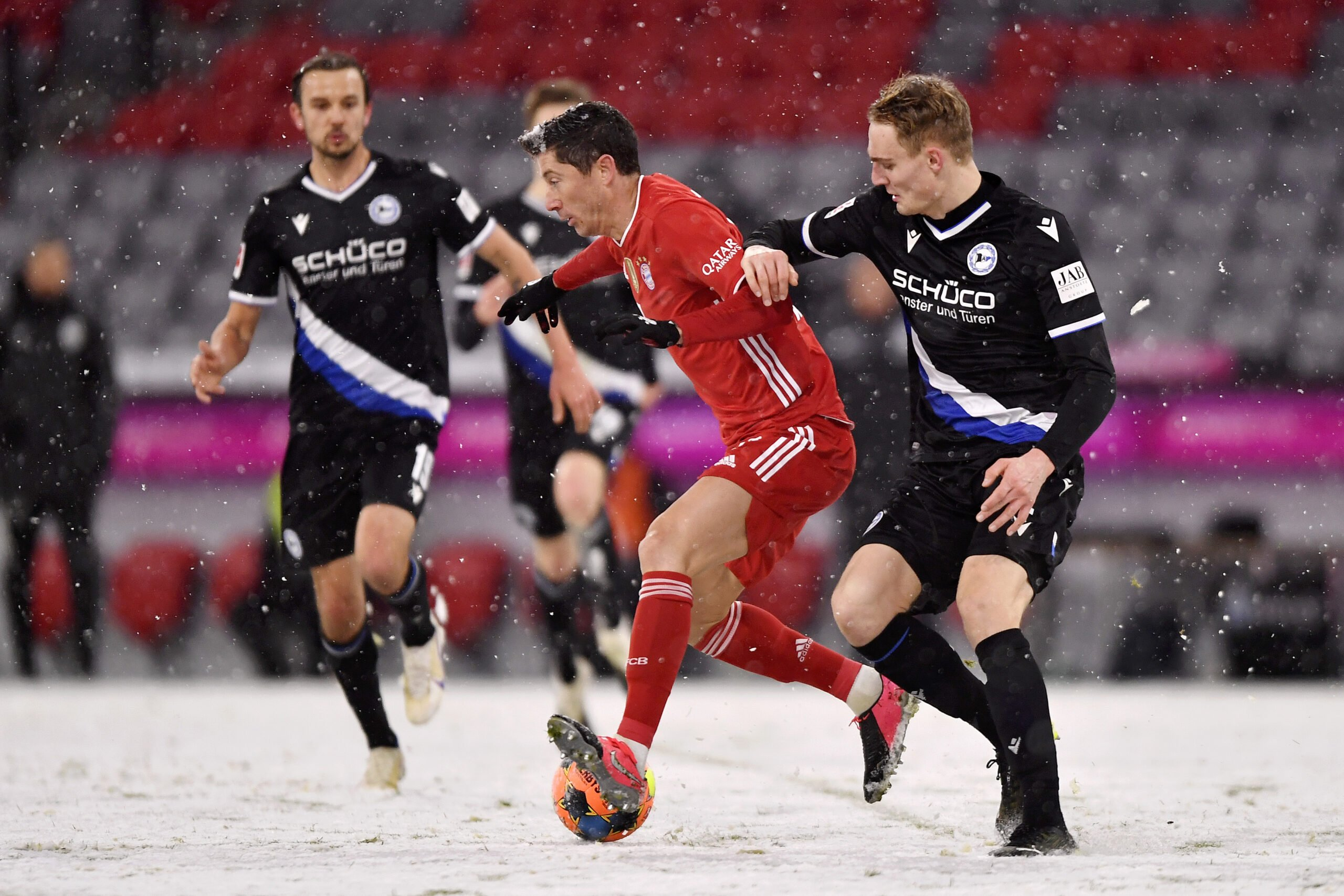 FC Bayern vs. Arminia Bielefeld