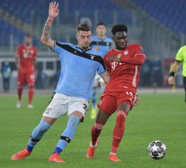 FC Bayern vs. Lazio Rom
