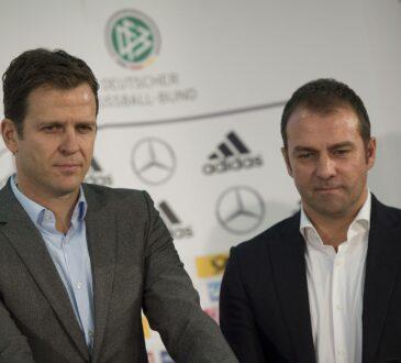 Oliver Bierhoff und Hansi Flick