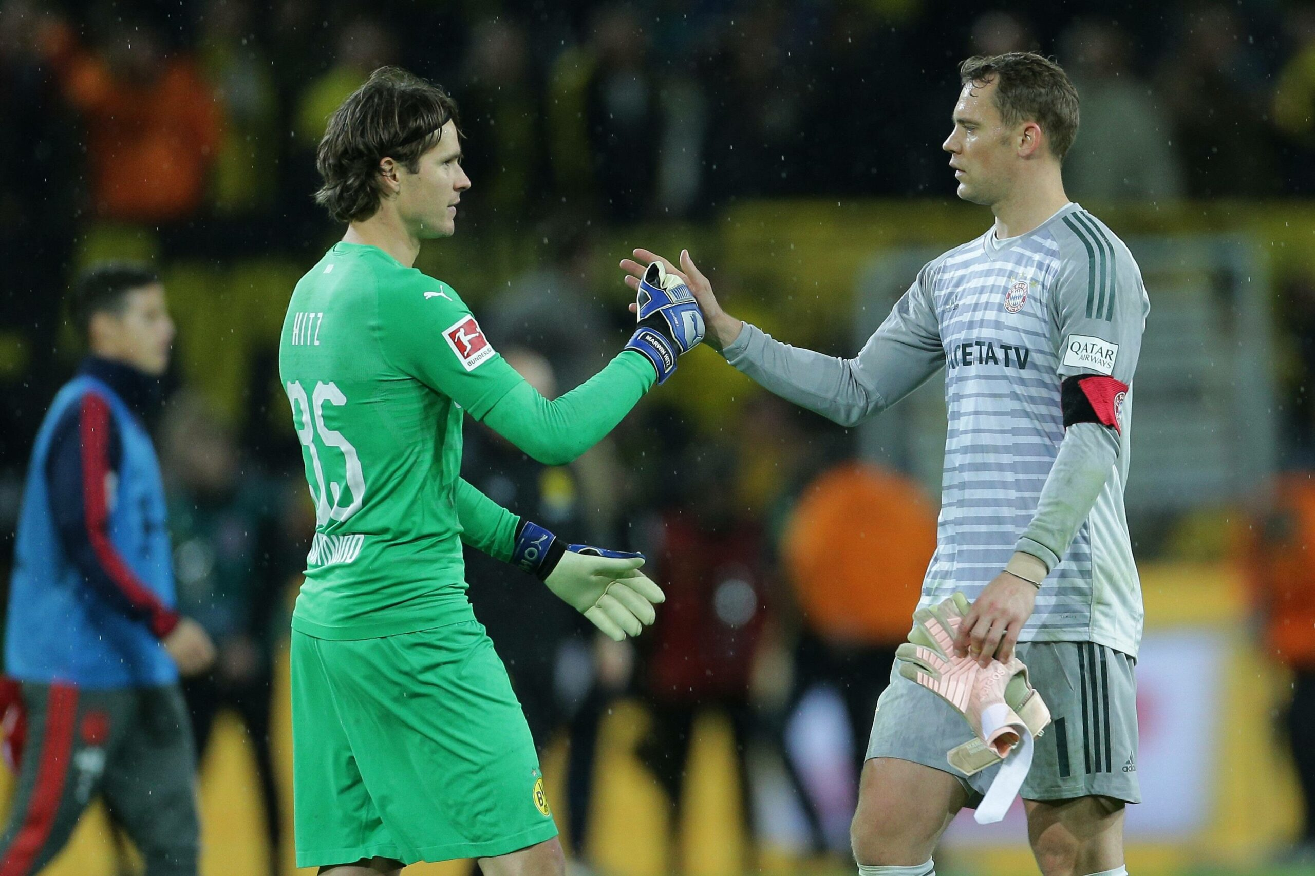 Marwin Hitz und Manuel Neuer