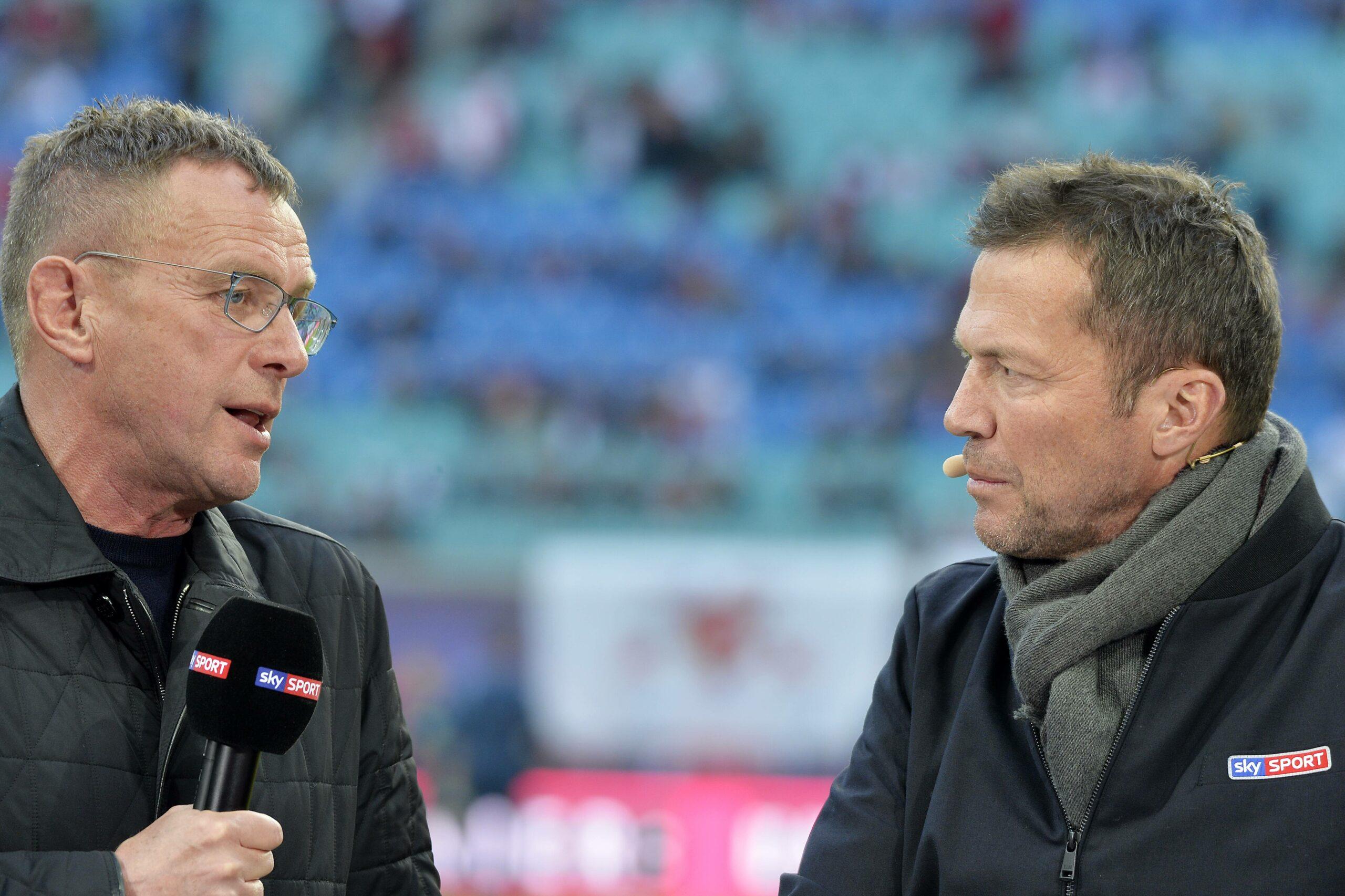 Ralf Rangnick und Lothar Matthäus