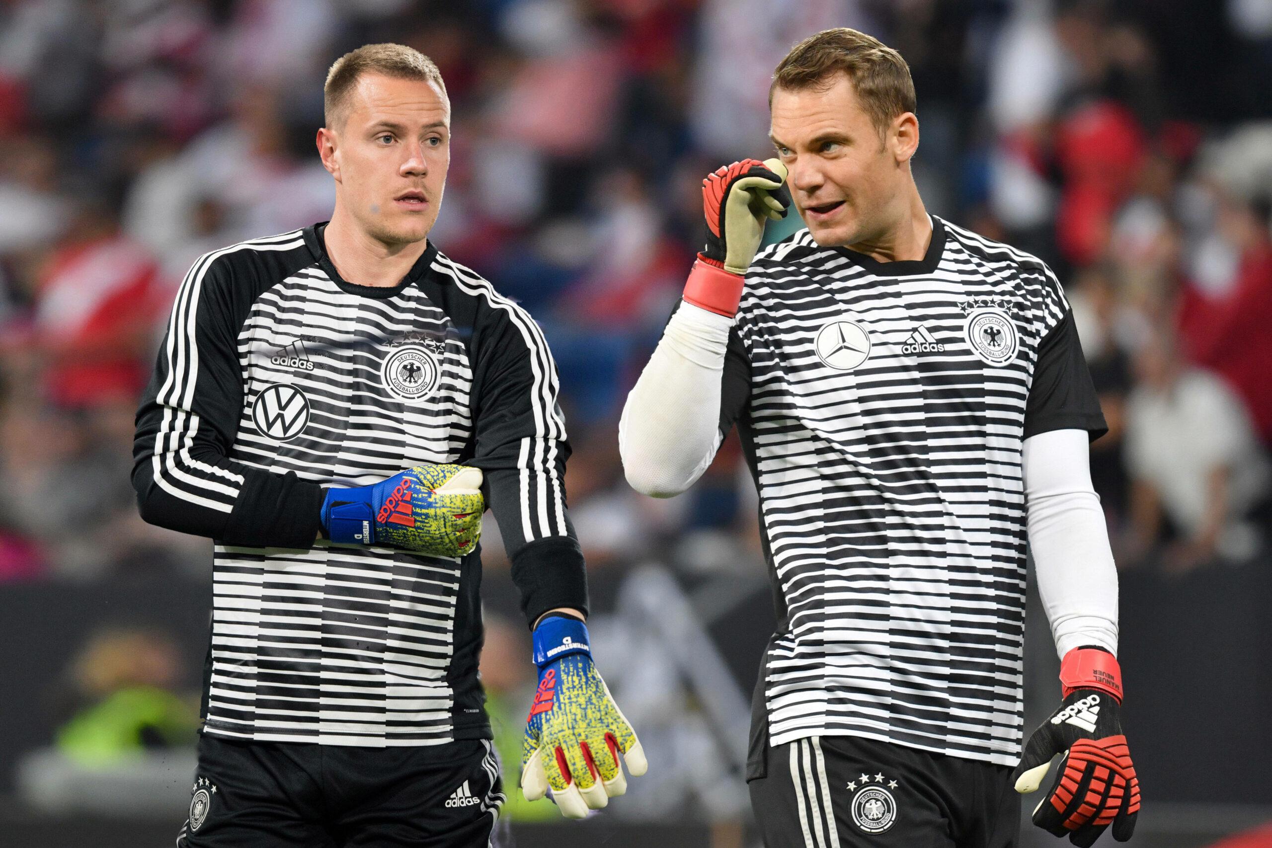 Marc-Andre ter Stegen und Manuel Neuer
