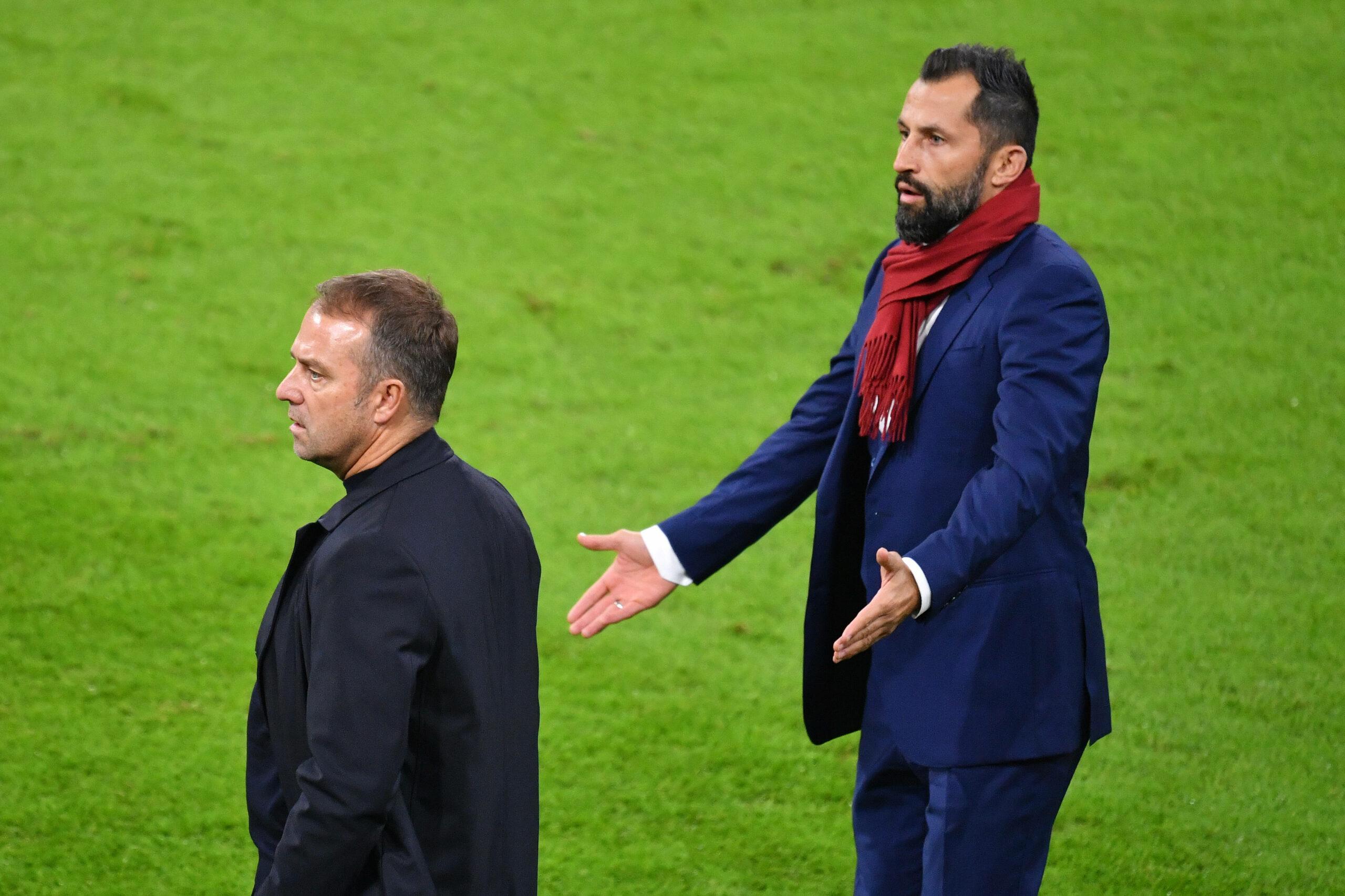 Hasan Salihamidzic und Hansi Flick