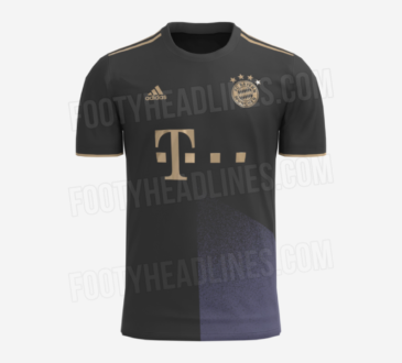 FC Bayern Auswärtstrikot für die Saison 2021/22