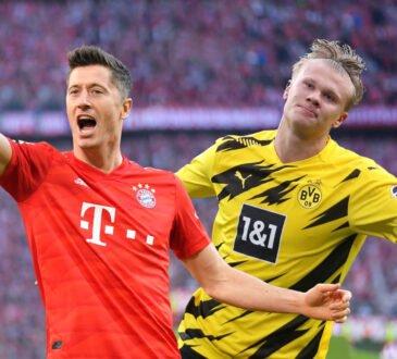 Lewandowski vs. Haaland