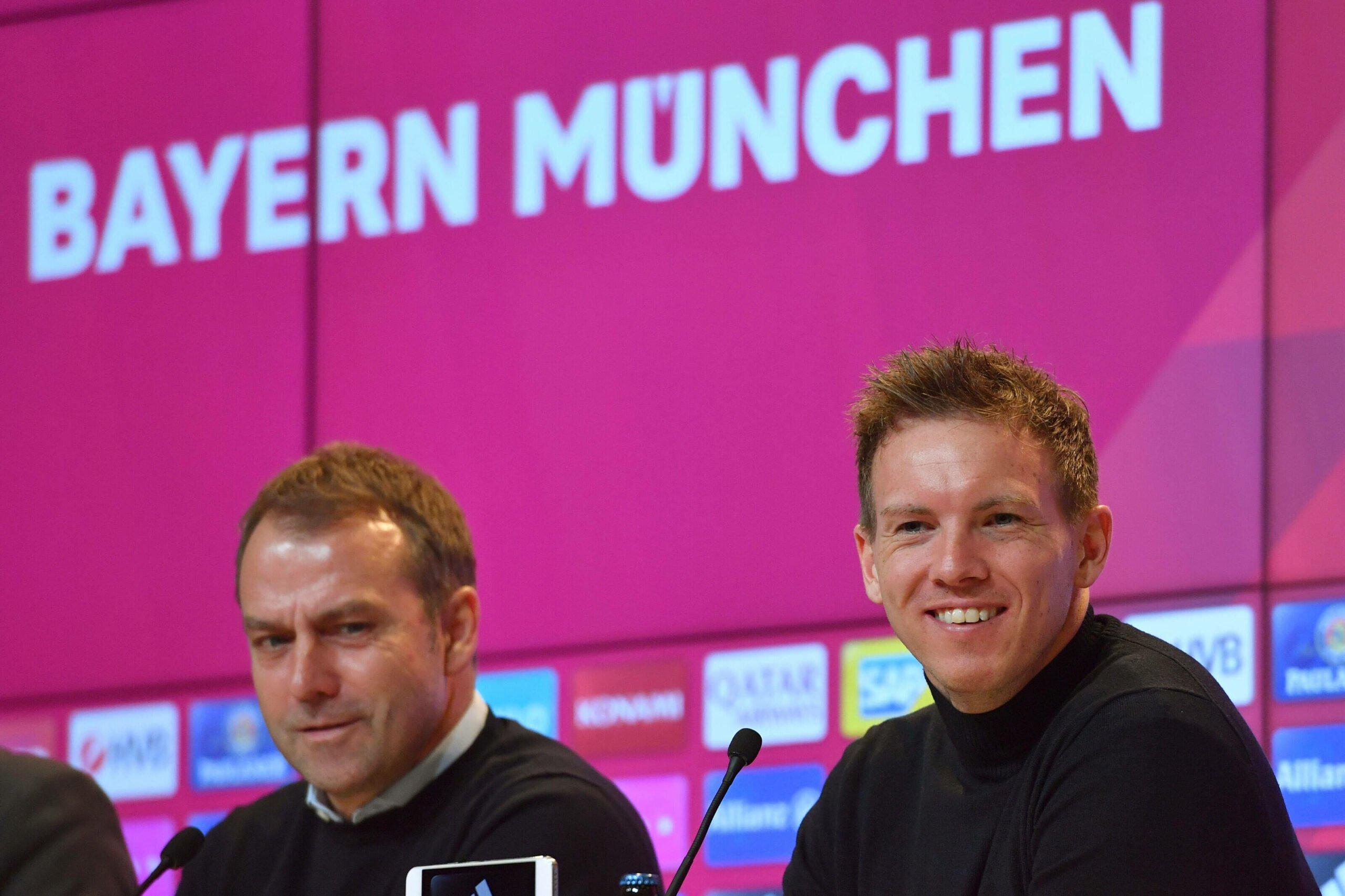 Hansi Flick und Julian Nagelsmann