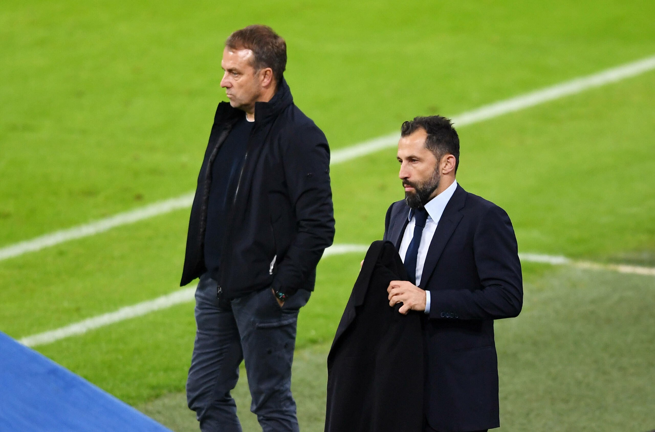 Hansi Flick und Hasan Salihamidzic