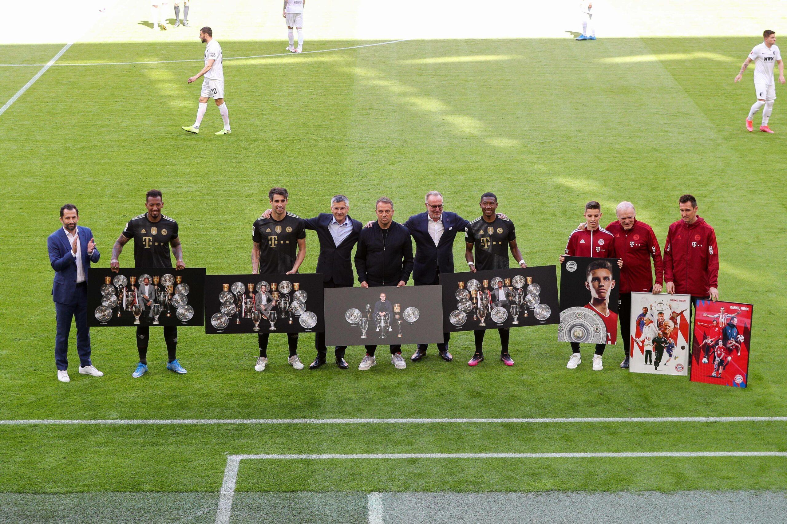 FC Bayern Abschied