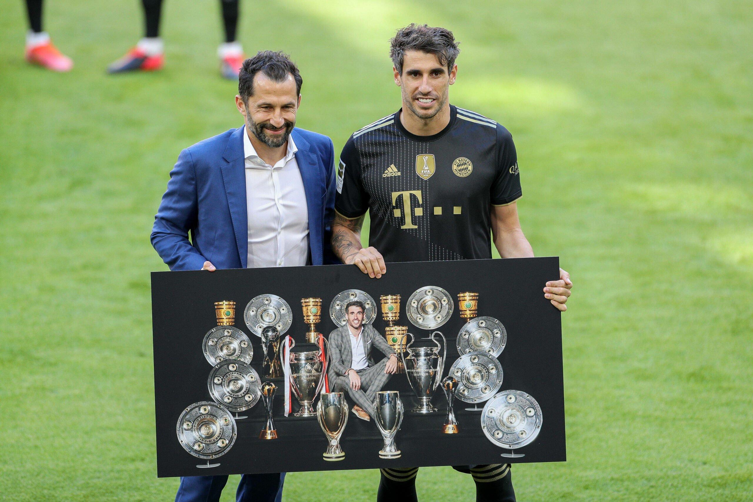 Javi Martinez und Hasan Salihamidzic