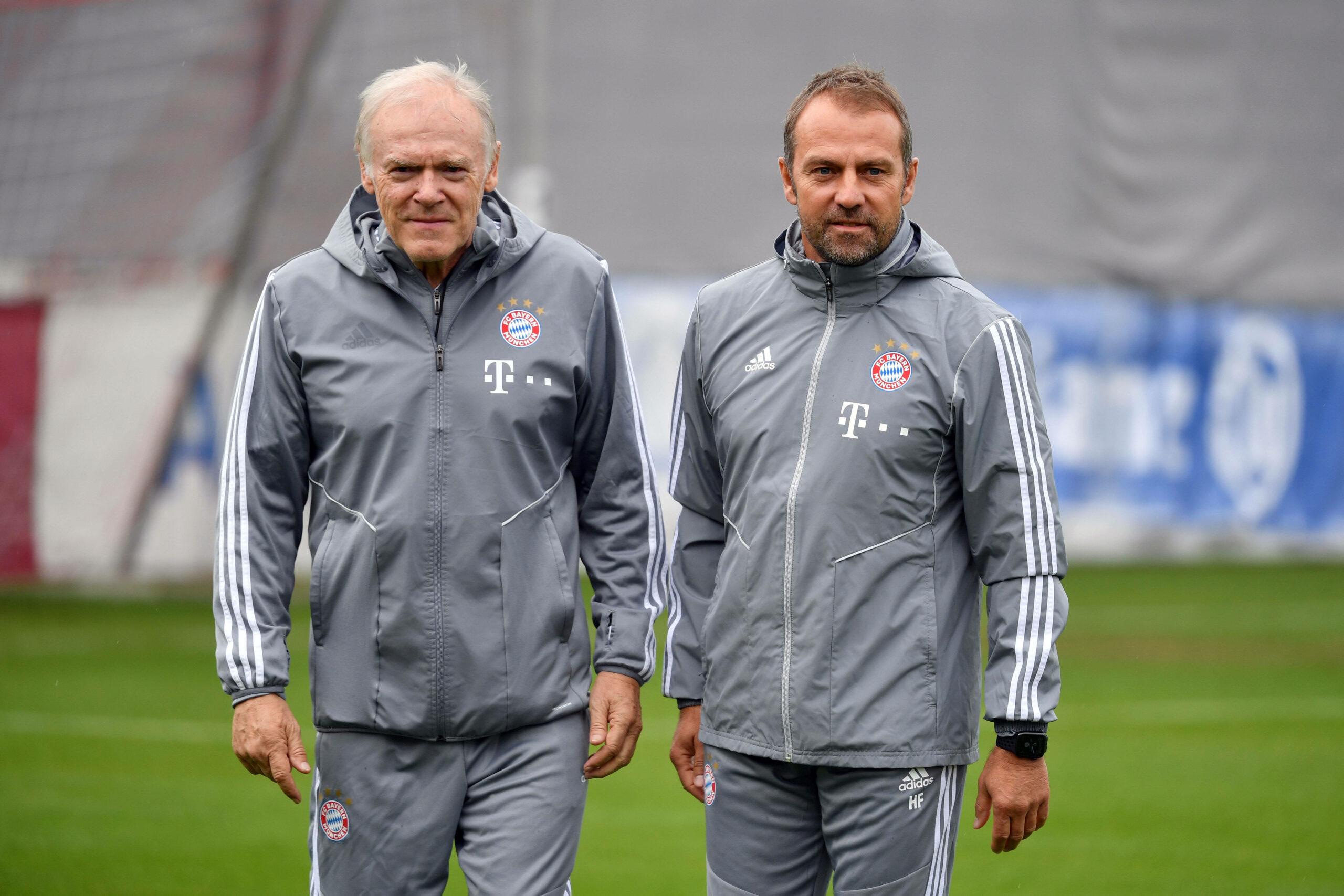 Hermann Gerland und Hansi Flick