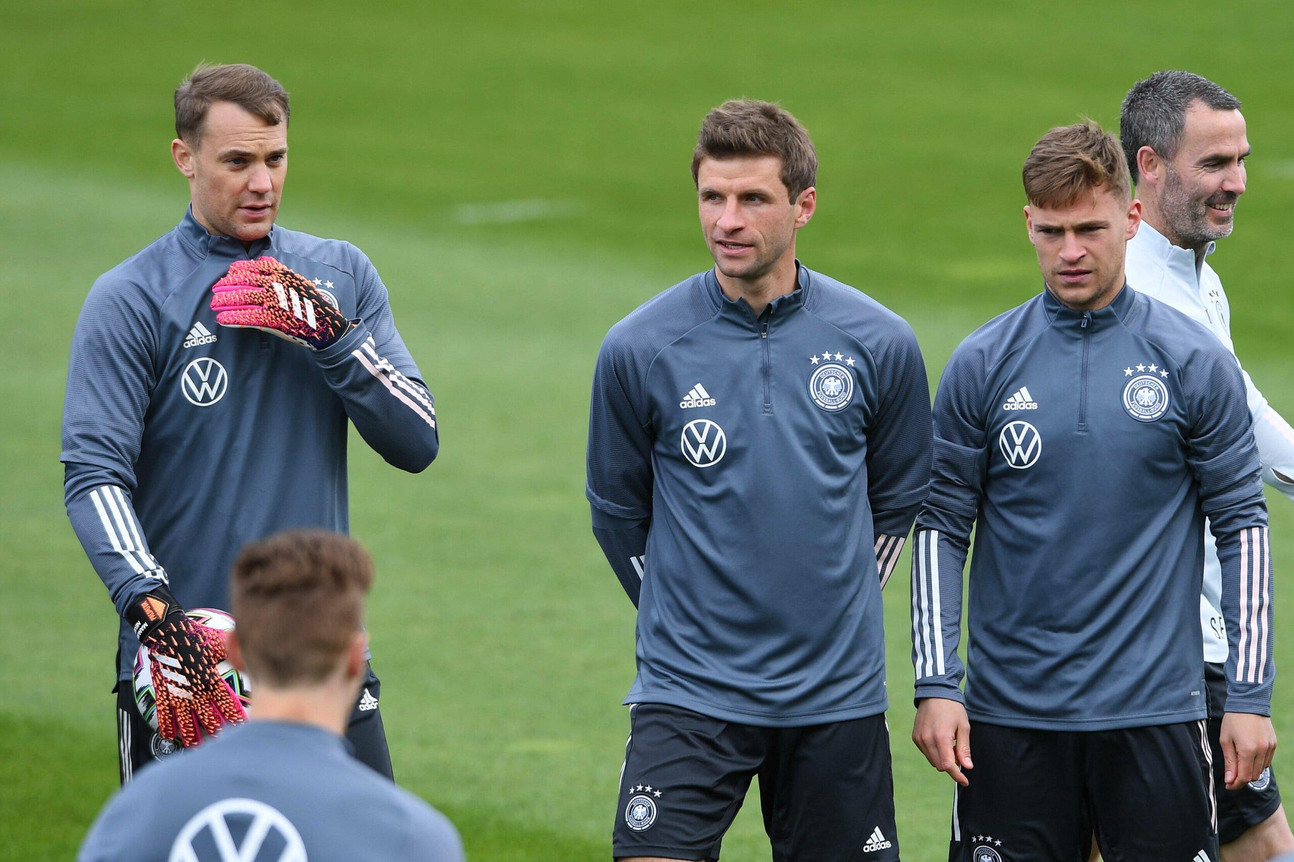 Bayern-Stars beim DFB-Team