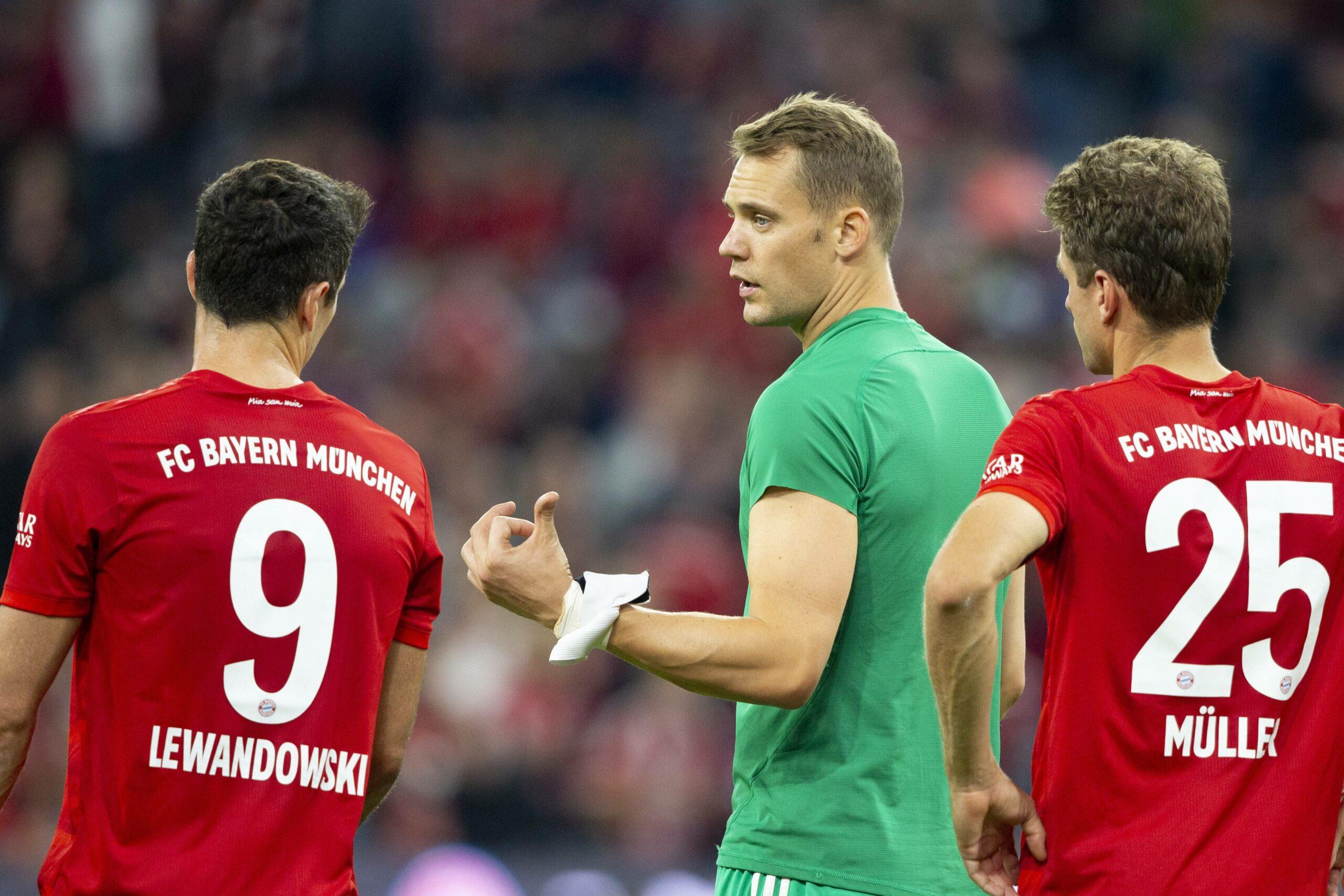 Lewandowski, Neuer und Müller