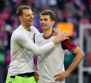 Manuel Neuer und Thomas Müller