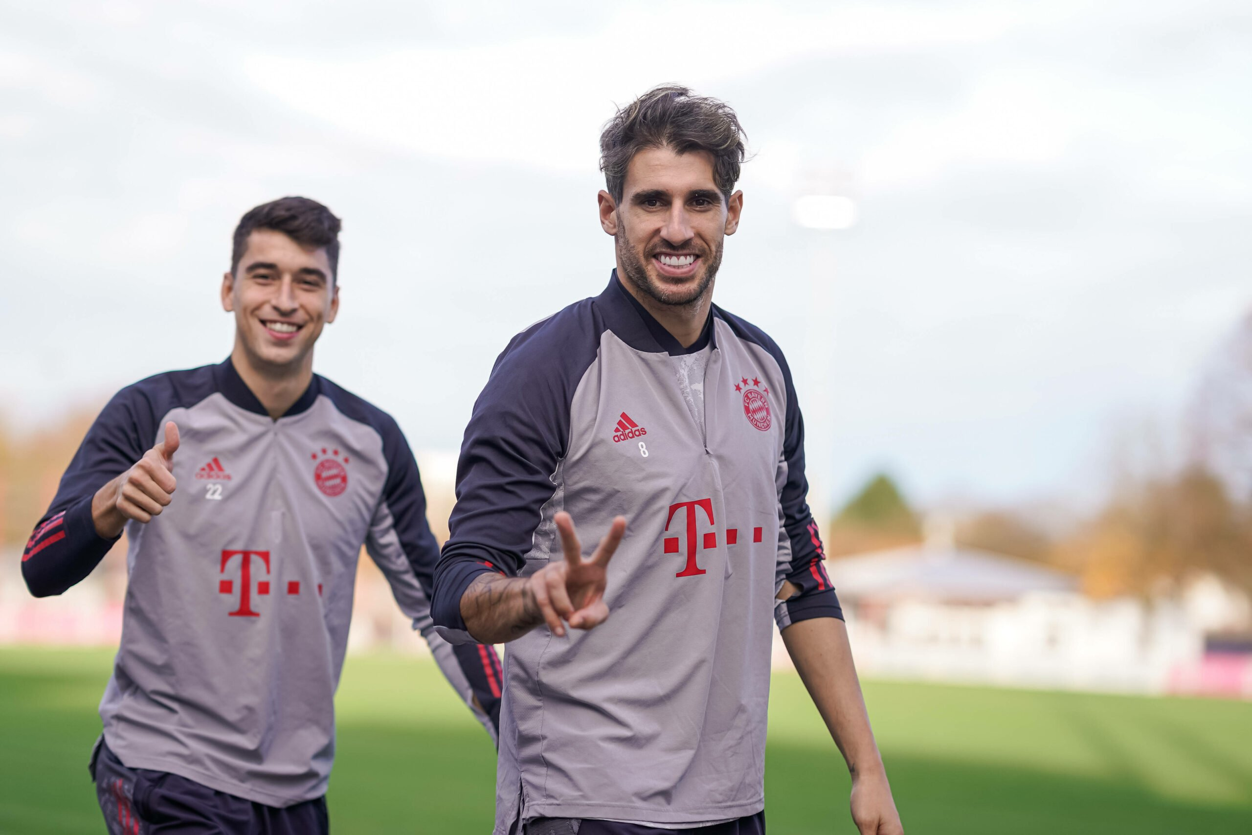 Marc Roca und Javi Martinez