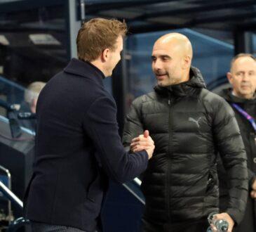 Pep Guardiola und Julian Nagelsmann