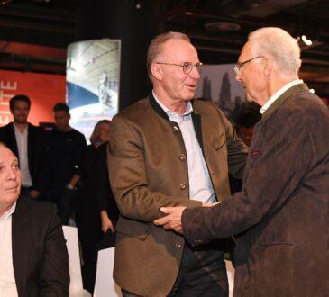 Karl-Heinz Rummenigge und Franz Beckenbauer