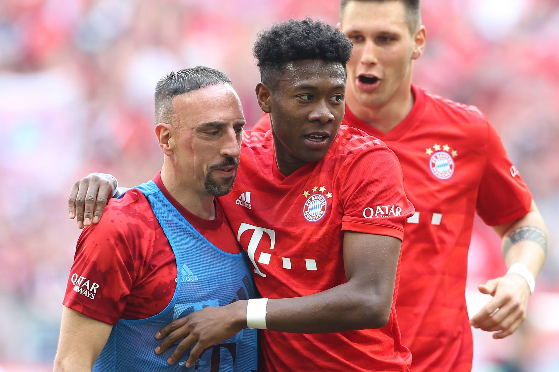 Franck Ribery und David Alaba