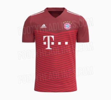FC Bayern Heimtrikot 2021/22