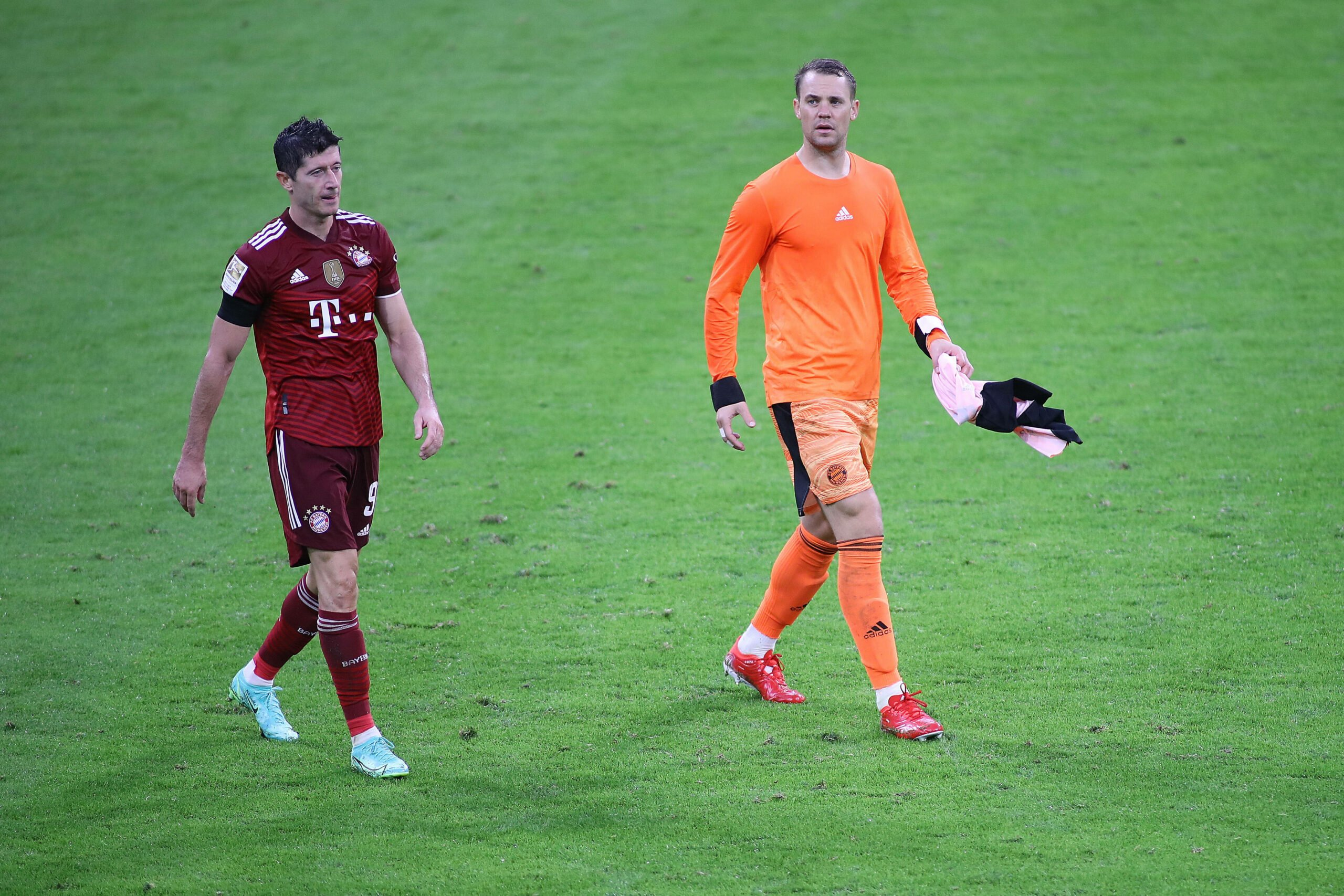 Manuel Neuer und Robert Lewandowski