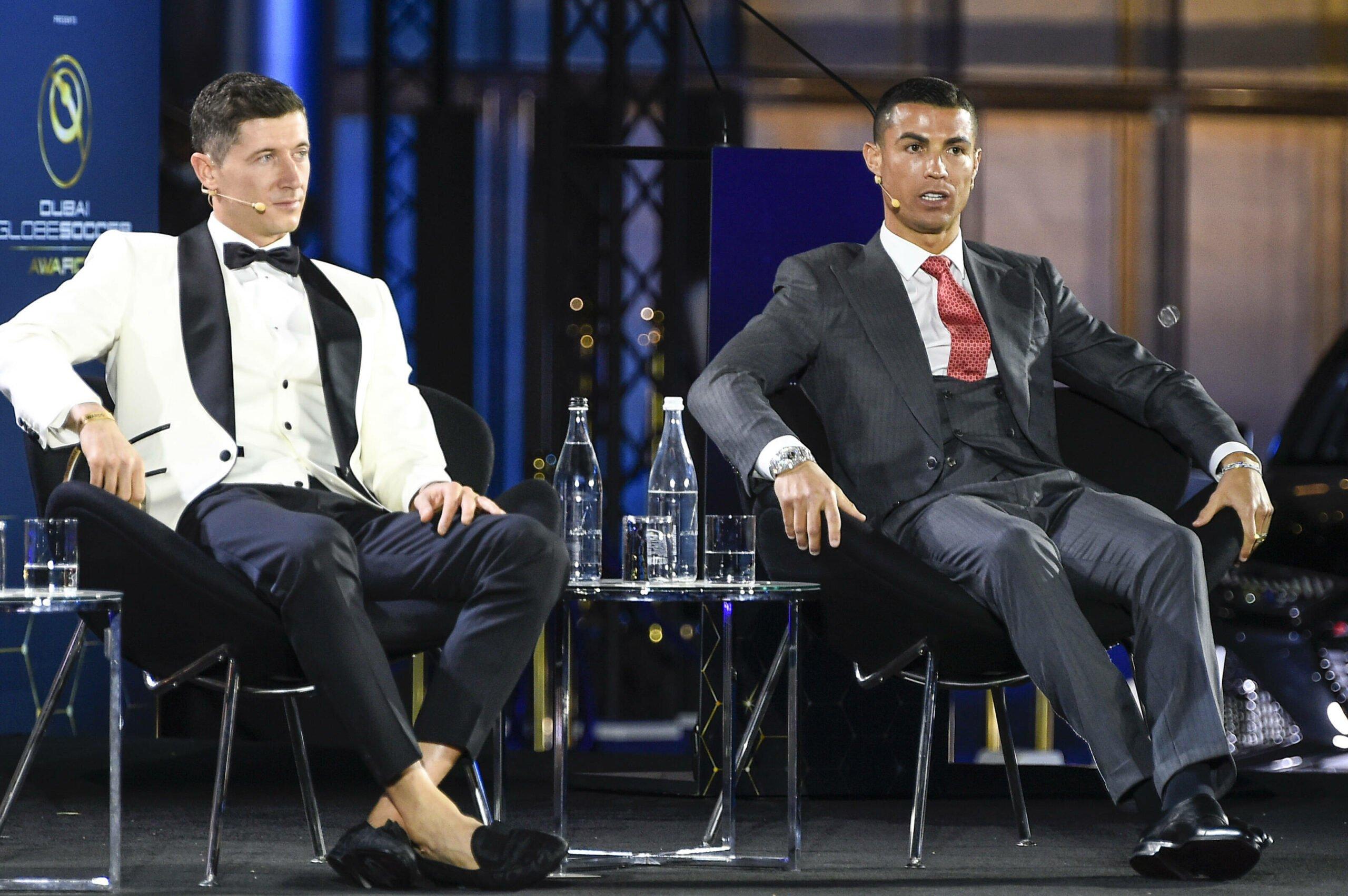 Robert Lewandowski und Cristiano Ronaldo