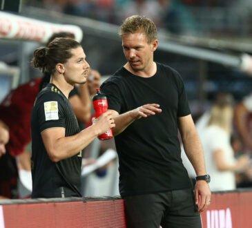 Julian Nagelsmann und Marcel Sabitzer