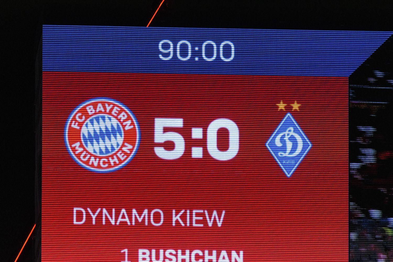 FC Bayern vs. Kiew