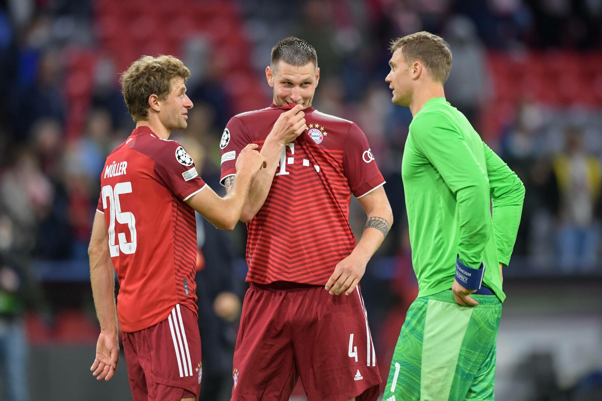 Niklas Süle, Manuel Neuer und Thomas Müller